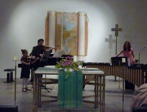 FEURIGE MUSIK in der Gethsemane-Kirche