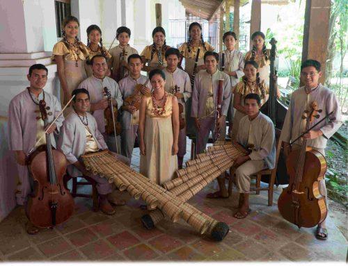 """Benefizkonzert """"Pasión Moxos"""" – Barockmusik aus dem bolivianischen Regenwald mit dem Ensamble Moxos"""