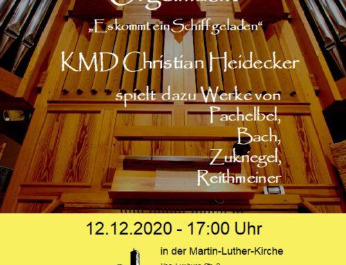 Adventsandacht mit Orgelmusik